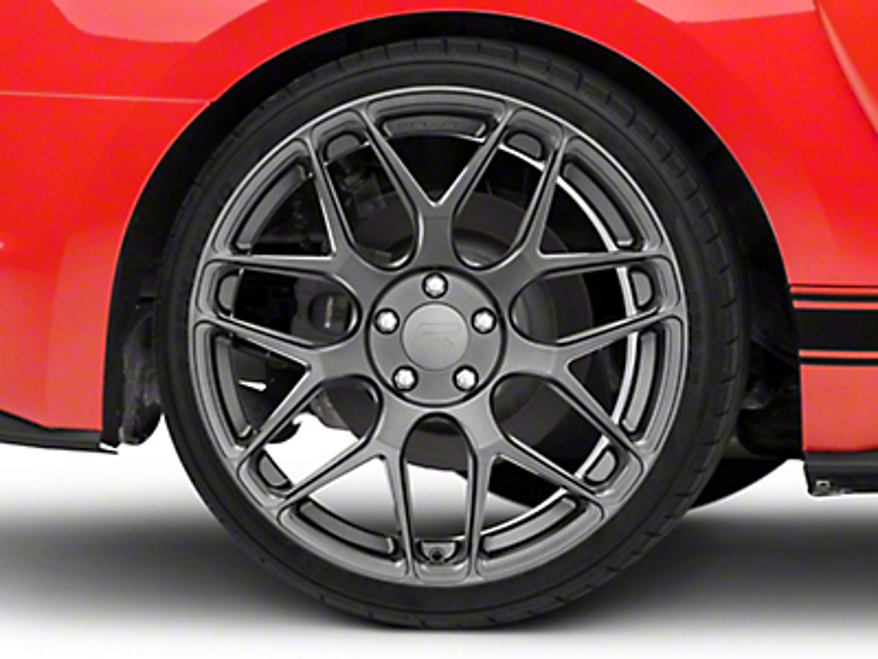 Rovos Pretoria Gunmetal Wheel - 20x10 (15-18 GT, EcoBoost, V6)