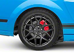 Rovos Pretoria Gloss Black Wheel; Rear Only; 20x10 (05-09 All)