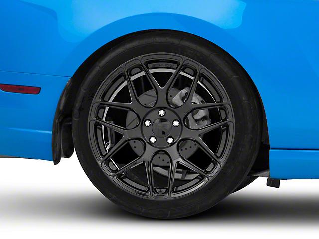 Rovos Pretoria Gloss Black Wheel; Rear Only; 20x10 (10-14 All)