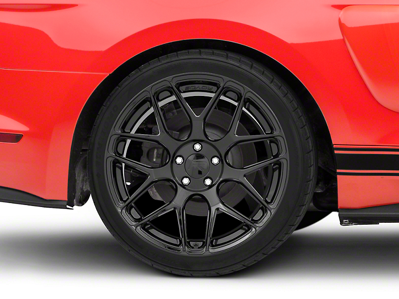 Rovos Pretoria Gloss Black Wheel - 20x10 (15-18 GT, EcoBoost, V6)