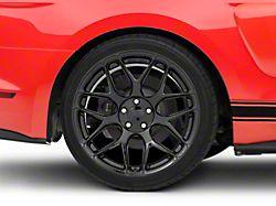 Rovos Pretoria Gloss Black Wheel; Rear Only; 20x10 (15-20 GT, EcoBoost, V6)