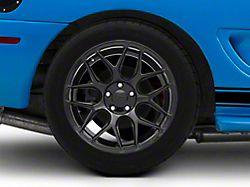 Rovos Pretoria Gloss Black Wheel; Rear Only; 18x10.5 (94-98 All)