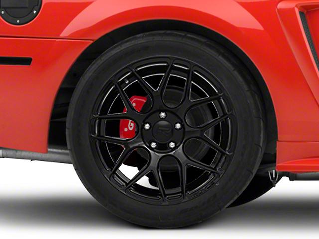 Rovos Pretoria Gloss Black Wheel; Rear Only; 18x10.5 (99-04 All)