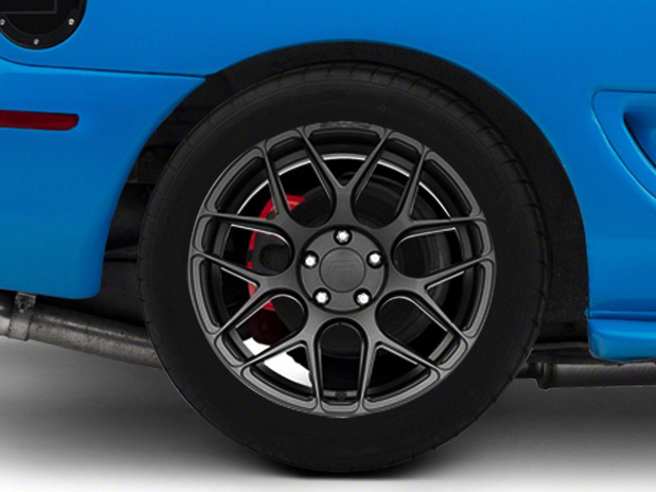 Rovos Gunmetal Pretoria Wheel - 18x10.5 - Rear Only (94-04 All)