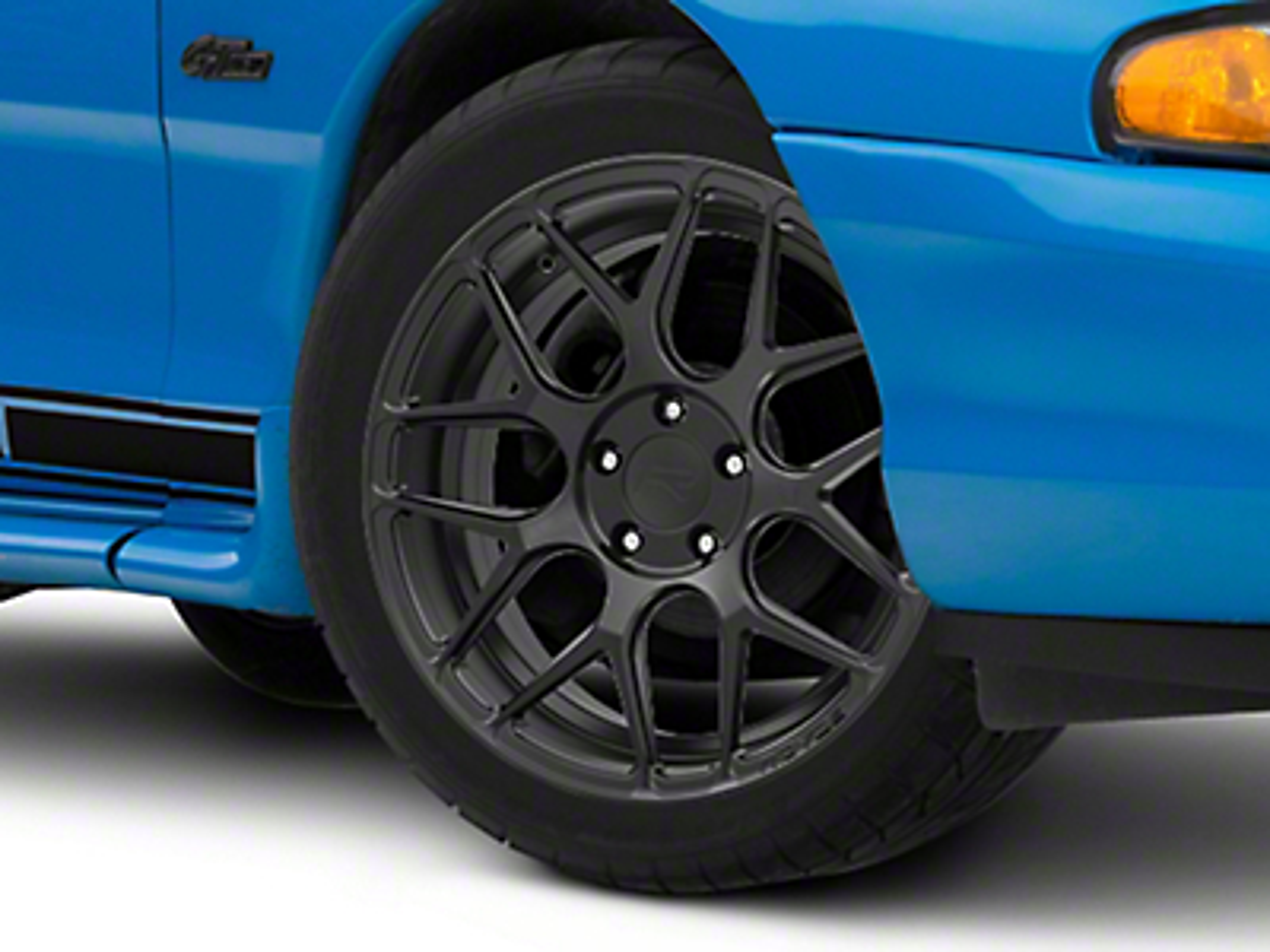 Rovos Satin Black Pretoria Wheel - 18x9 (94-04 All)