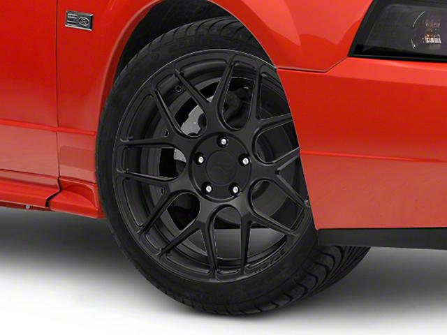Rovos Pretoria Satin Black Wheel; 18x9 (99-04 All)
