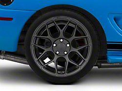 Rovos Pretoria Satin Black Wheel; Rear Only; 18x10.5 (94-98 All)