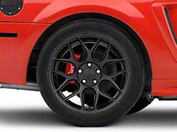 Rovos Pretoria Satin Black Wheel; Rear Only; 18x10.5 (99-04 All)