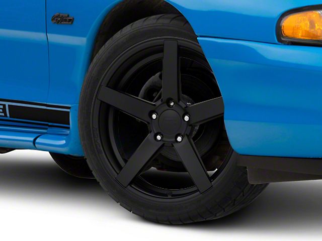 Rovos Satin Black Durban Wheel - 18x9 (94-04 All)