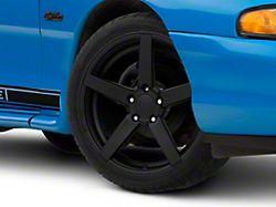 Rovos Durban Satin Black Wheel; 18x9 (94-98 All)