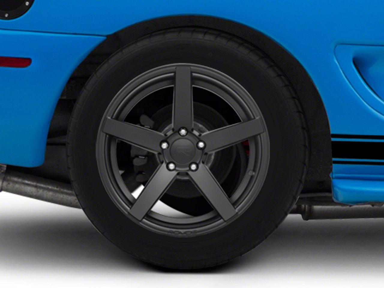 Rovos Durban Satin Black Wheel - 18x10.5 - Rear Only (94-04 All)