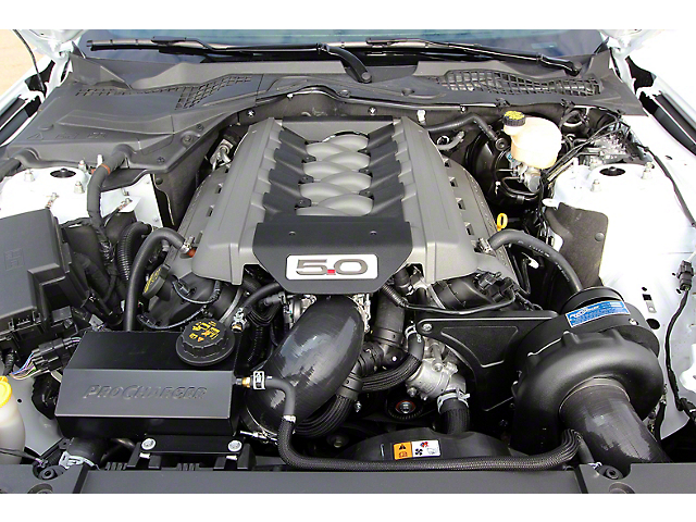 Procharger High Output Intercooled Supercharger Kit; Satin Finish (15-17 GT)