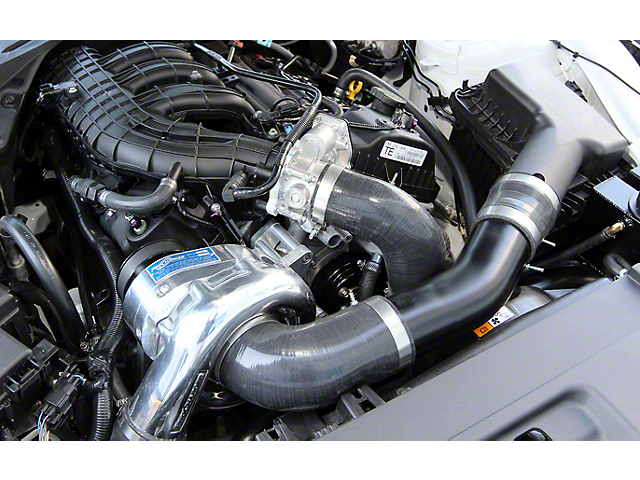 Procharger High Output Intercooled Supercharger Tuner Kit; Satin Finish (15-17 V6)