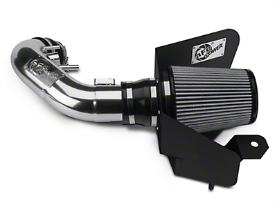 AFE Magnum Force Stage 2 Pro Dry S Cold Air Intake - Polished (11-14 GT)
