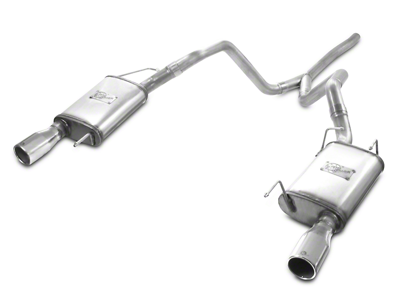 AFE MACH Force XP 2.5 in. Cat-Back Exhaust w/ Polished Tips (05-09 V6)