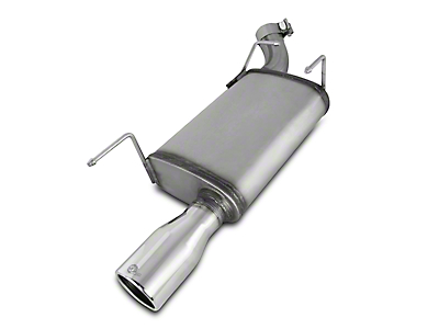 AFE MACH Force XP 2.5 in. Axle-Back Exhaust w/ Polished Tip (05-09 V6)