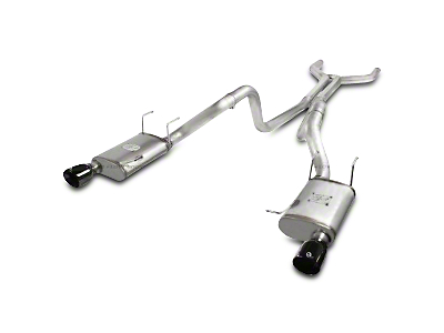 AFE Mach Force-XP 3 in. Cat-Back Exhaust - Black Tips (11-14 GT)