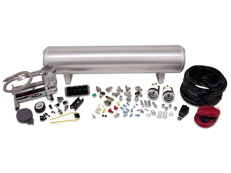 Air Lift Performance 4-Way Manual Air Management System - 1/4 in. Lines (94-20 All)
