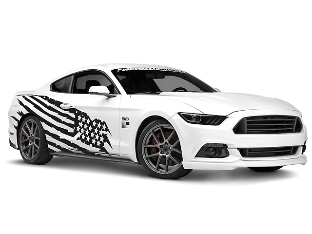 American Muscle Graphics Battle Born Side Graphics Package (05-18 Coupe/Fastback)