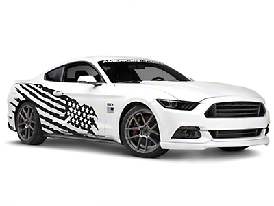 American Muscle Graphics Battle Born Side Graphics Package (05-17 Coupe/Fastback)