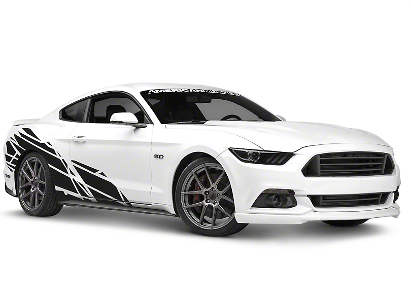 American Muscle Graphics Mustang Wasteland Side Graphics Package - Car side decals designpopular sport car graphicsbuy cheap sport car graphics lots from