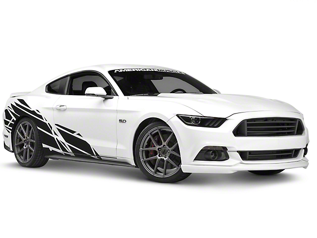 American muscle graphics wasteland side graphics package 05 17 coupe fastback