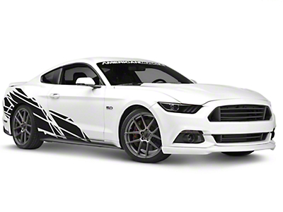 American Muscle Graphics Wasteland Side Graphics Package (05-17 Coupe/Fastback)