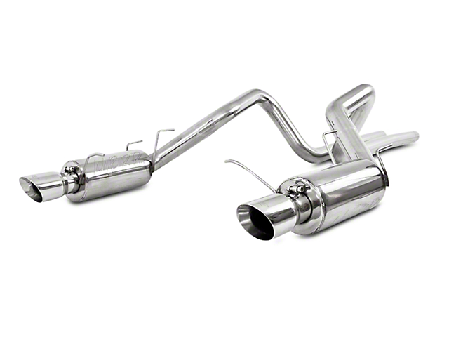 MBRP 3 in. Street Series Cat-Back Exhaust - 409 Stainless (11-12 GT500)