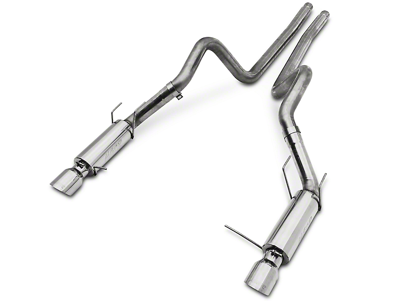 MBRP 3 in. Race Series Cat-Back Exhaust - 304 Stainless (11-12 GT500)