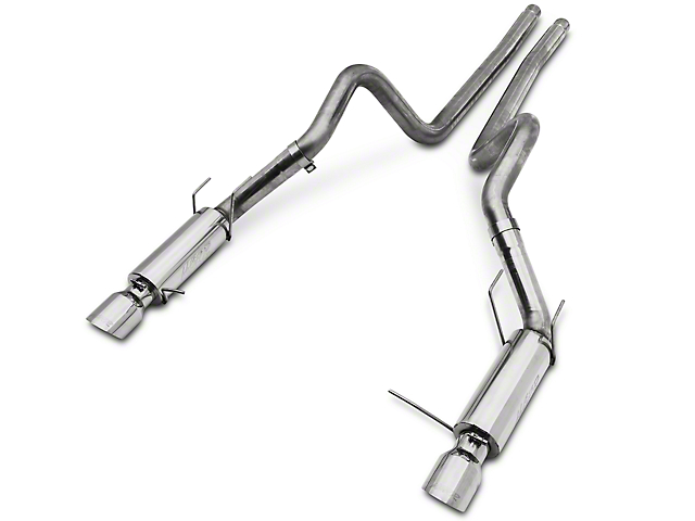 MBRP 3 in. Pro Series Cat-Back Exhaust - Race Version (11-12 GT500)
