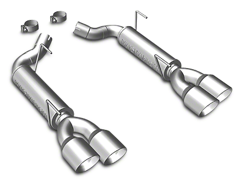 Magnaflow Quad Tip Competition Series Axle-Back Exhaust System - Stainless (2010 GT)
