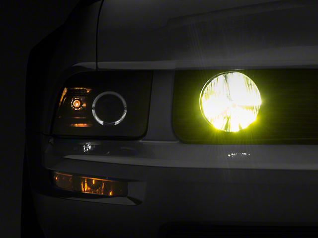 Raxiom Yellow Fog Light LED Conversion Bulb Kit - H10 (03-04 Cobra; 05-09 GT)