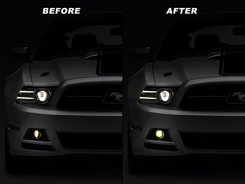 Raxiom Yellow Fog Light LED Conversion Bulb Kit - H11 (05-14 V6; 10-14 GT/CS)