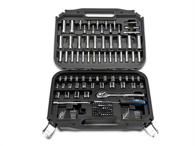 Ford 148 Piece 1/4 in. and 3/8 in. Socket Set - SAE and Metric