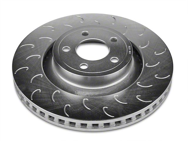 Stillen J Hook Slotted Rotors - Front Pair (15-18 Standard GT, EcoBoost w/ Performance Pack)