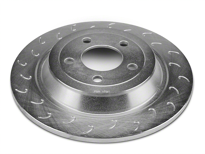 Stillen J Hook Slotted Rotors - Rear Pair (15-17 V6, EcoBoost)