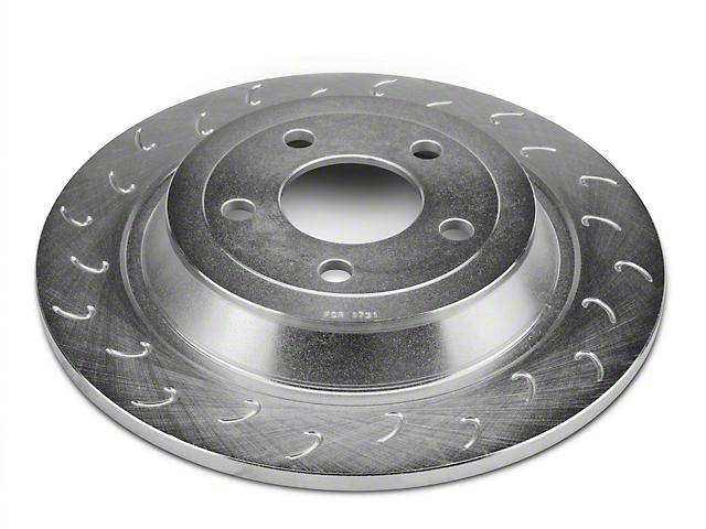 J Hook Slotted Rotors; Rear Pair (15-20 EcoBoost, V6)
