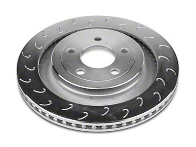 Stillen J Hook Slotted Rotors - Rear Pair (15-18 GT, EcoBoost w/ Performance Pack)