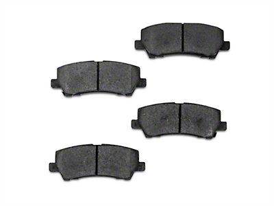 Stillen Metal Matrix Brake Pads - Rear Pair (15-17 GT, EcoBoost, V6)