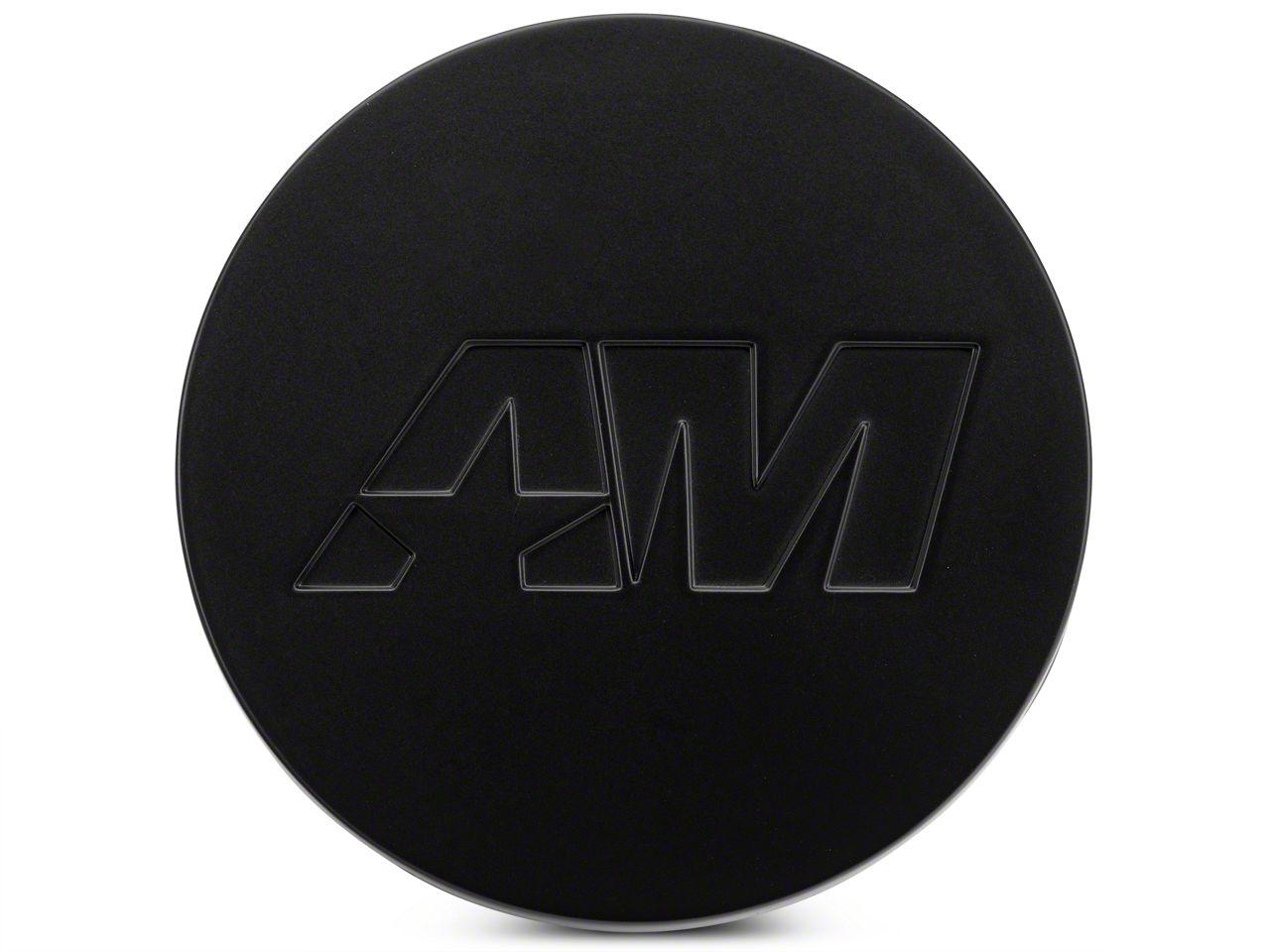 Matte Black AmericanMuscle Center Cap Kit (94-19 All)