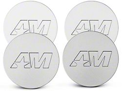 Stainless AmericanMuscle Center Cap Kit (94-19 All)