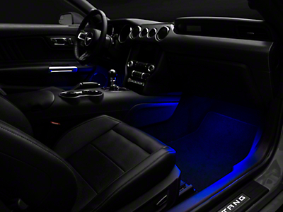 Raxiom LED Footwell Lighting Kit - Blue (15-18 All)