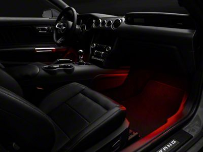 Raxiom LED Footwell Lighting Kit - Red (15-19 All)