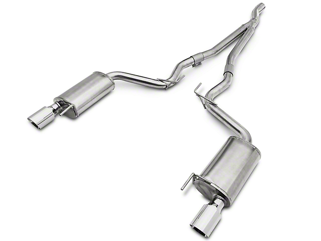 Krona Performance B.A.M.F. Cat-Back Exhaust (15-19 EcoBoost Fastback w/o Active Exhaust)