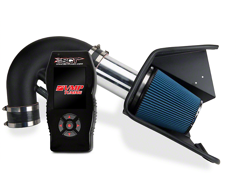 Steeda Cold Air Intake & SCT X4 Tuner w/ VMP Tunes (11-14 GT w/ Manual Transmission)