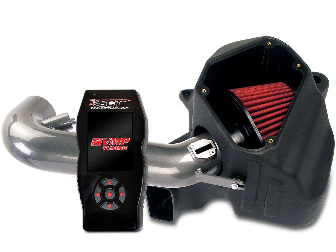 AEM Gunmetal Brute Force Cold Air Intake & SCT X4 Tuner w/ VMP Tunes (11-14 GT)