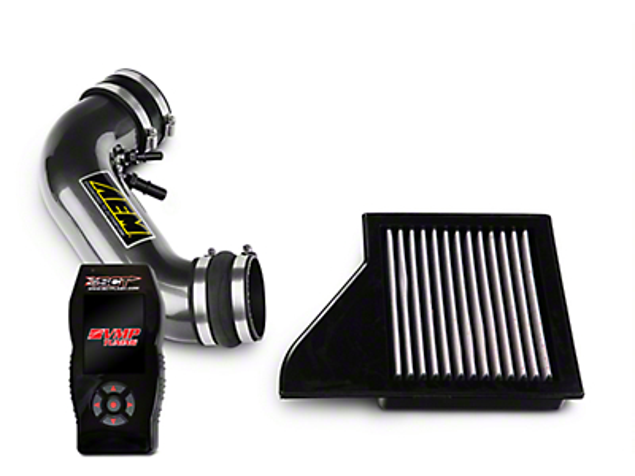 AEM Intake Tube w/ Air Filter & SCT X4 Tuner w/ VMP Tunes (11-14 GT)