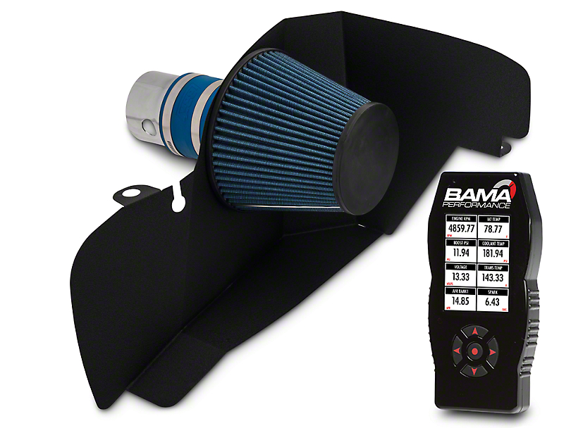 BBK Chrome Cold Air Intake & Bama X4 Tuner (15-17 EcoBoost)