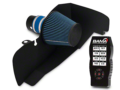 BBK Black Out Cold Air Intake & Bama X4 Tuner (15-17 EcoBoost)
