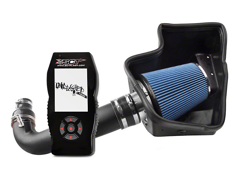 Steeda ProFlow Cold Air Intake & SCT X4 Tuner w/ Unleashed Tunes (15-17 EcoBoost)